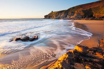 Rinsey Beach Porthcew Cornwall