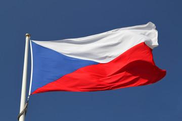 The Czechia flag