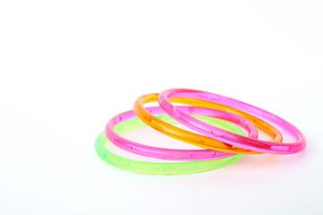 plastic toy bangle
