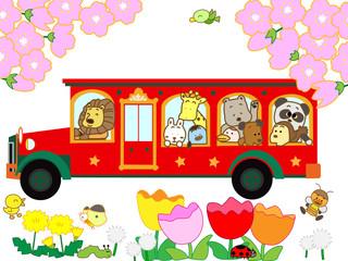 春のバス旅行
