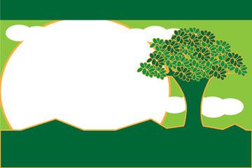 樹木の空欄