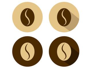 Coffee Bean Icons