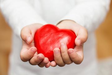 Red Heart Shape