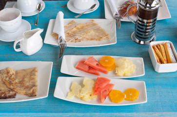 petit déjeuner pour deux