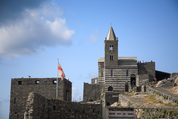 portovenere chiesa parco regionale liguria