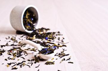 Mixed dry tea