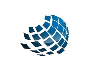 globe logo template