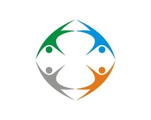 human figure logo v.3