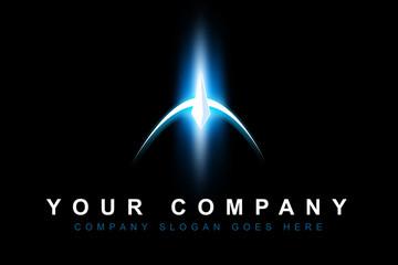 Space Sci-Fi Logo