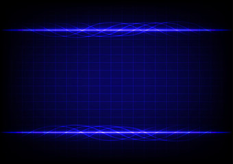 abstract blue line design blackground
