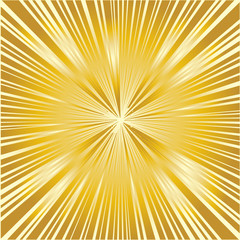 Golden Ray Background