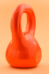 red kettlebell, cannonbell or girya