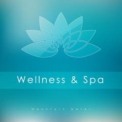 Abstract vector logo template for SPA, Yoga, Cosmetics, Medicine