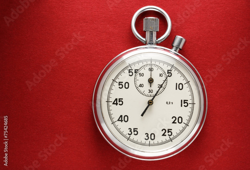 canvas print picture Stopwatch