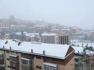 Potenza sotto la neve