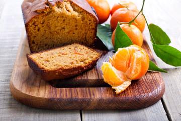 Citrus, spice cake