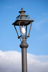Naked street lamp classic