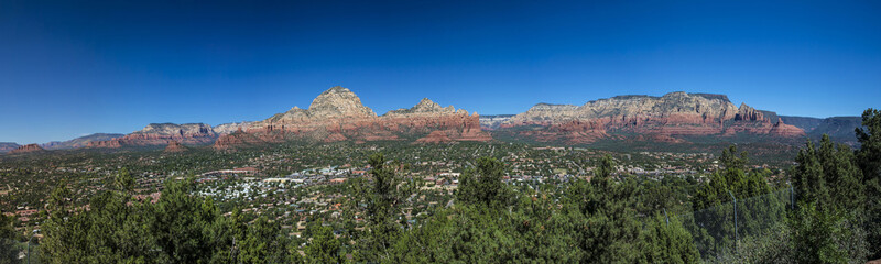 Panoramic of Sedona Arizona