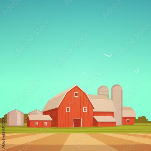 Red Farm Barn - 75430205