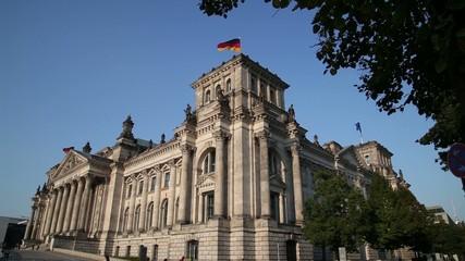 German Parliament in Berlin