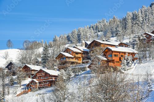 Papiers peints Montagne Méribel, Savoie, France