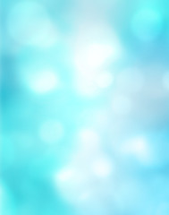 Abstract blur blue background pattern