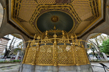 Ablution Fountain, Hagia Sophia - Istanbul, Turkey