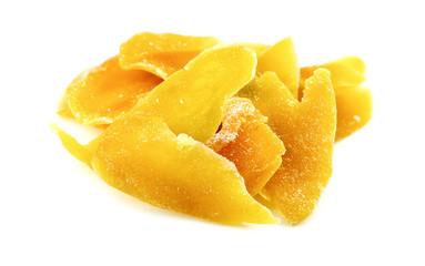 Tasty dried mango slices
