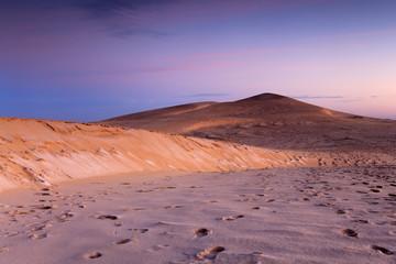 La dune du pilat à l'aube