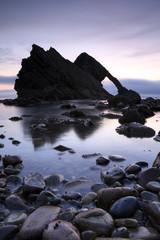 Bow Fiddle Rock in Portkockie