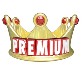 Premium Word Gold Crown Top Tier Paid Customer