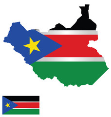 Republic of South Sudan Flag
