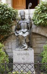 Princep Benlloch, Co-prince of Andorra, Bishop of Urgell