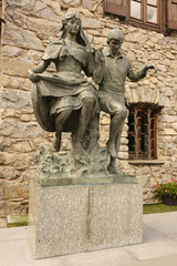 Statue in honor of the centenary of the New Reformation