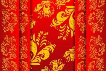 background illustration: khokhloma