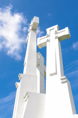 Three cross in Vilnius Lithuania