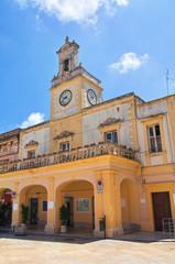 Clocktower. Fasano. Puglia. Italy.