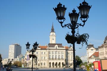 Novi Sad Main Square, Serbia