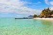 Leinwanddruck Bild - Mauritius island