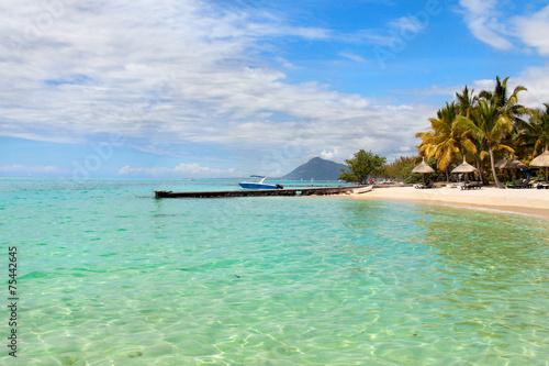 Leinwanddruck Bild Mauritius island