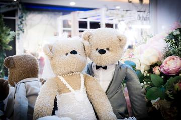 Teddy Bear marriage ceremony
