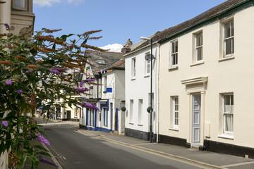 street at Moretonhampsted, Devon