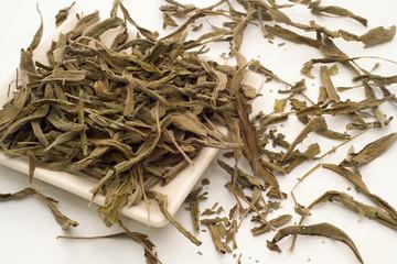Sage tea leaves