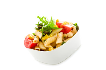 Pasta Salad Isolated