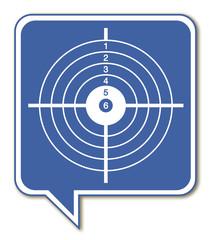 Logo cible.