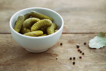 Pickled Gherkins