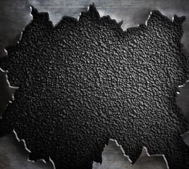 torn rough metal steam punk background