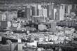 Modern Paris - black and white image