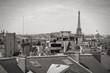 Paris black white