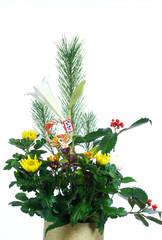 お正月の生花